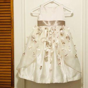 Joan calabrese for mon cher flower girl dress